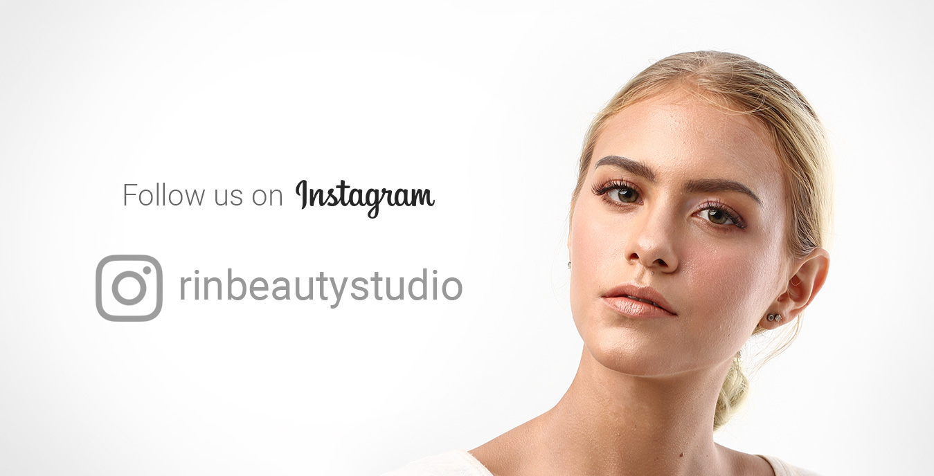 Follow Rin Beauty Studio di Instagram
